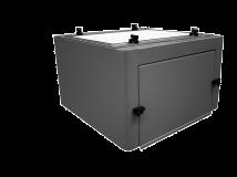Ausführung/Plenum mit Aktivkohlefilter für CLEANING DF1