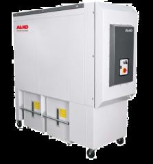 Absauganlage APU 200K - mit eingebauten Kompressor für Holzstaub und Holzspäne