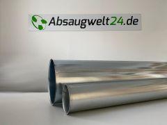 Bördelrohr 2000mm mit 2xBord für Spannschelle (Mindestabnahmemenge 10 Stk.)