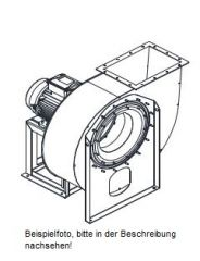 Radialventilator Ventilator - 4 kW - 1800m³/h - 160 mm - VUZC400k-D