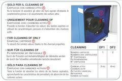 Ausführung mit Aktivkohlefilter für CLEANING DF