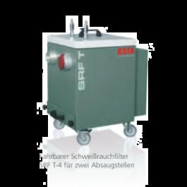 SRF T-4 - tragbarer Schweißrauchfilter